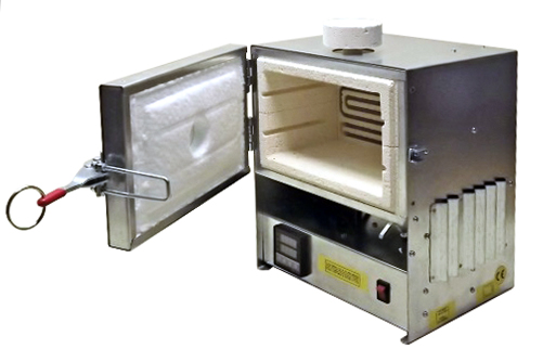 Universal table top electrical muffle kiln 5