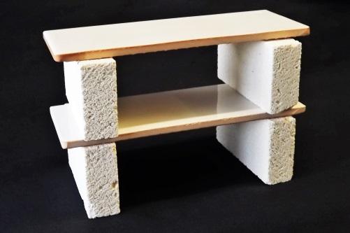2 tile shelves 4 muffle stands for r14 l r14 lp kilns set