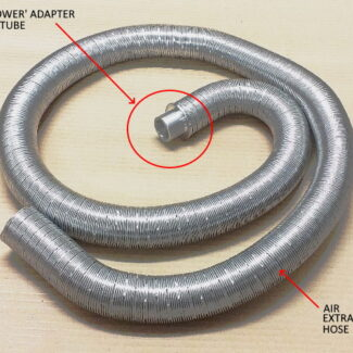 Air Extraction Hose and Adapter