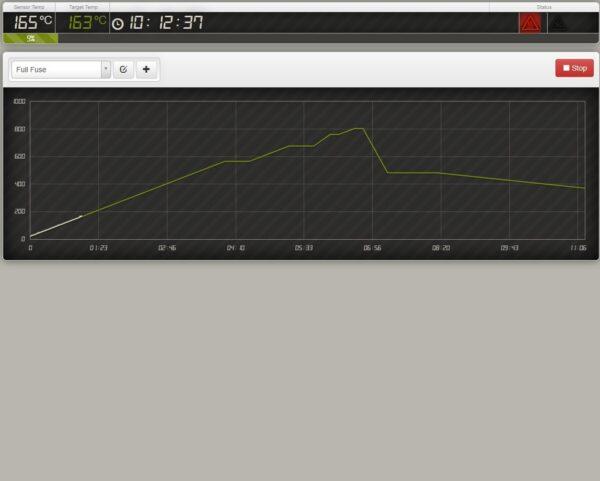 Digital Programmable Temperature Controller Screenshort 1