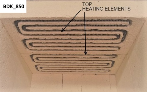 bdk 850 spare heating elements