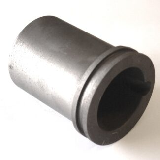100 oz 3.1 kg pure gold graphite crucible