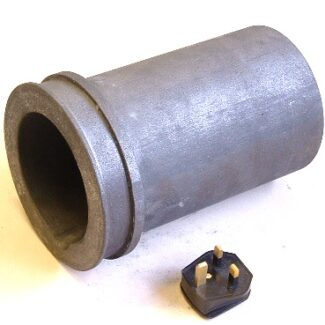 2.2kg aluminium graphite crucible for r9d 1000 kiln