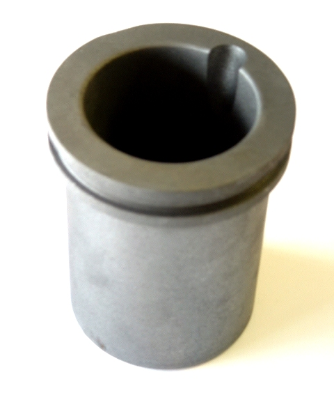 33 oz 1 kg pure gold graphite crucible