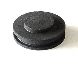 graphite lid for 100 oz pure gold crucible