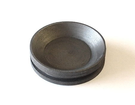 75 mm circular shape graphite bowl