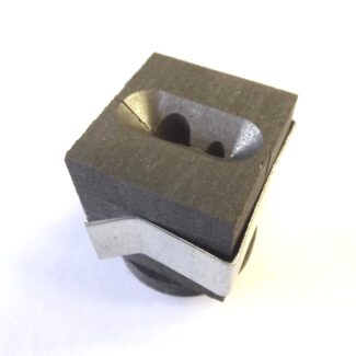 8mm 4mm bars graphite mould with clamp